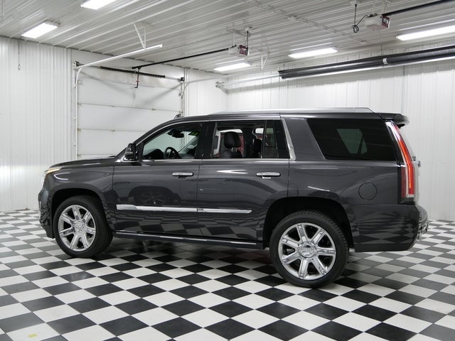 Used 2017 Cadillac Escalade Premium Luxury with VIN 1GYS4CKJ0HR296515 for sale in Rochester, Minnesota